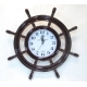 Zegar - koło sterowe