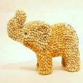 Słoń z muszli