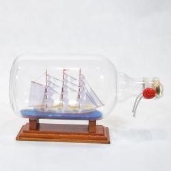 Statek w butelce