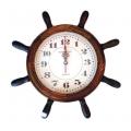 Zegar -koło sterowe